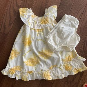 Darling ruffled dress from Baby Gap size 18-24 m